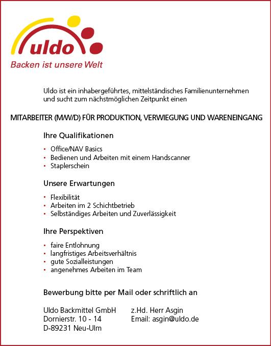 Uldo_Personalanzeige-Produktion